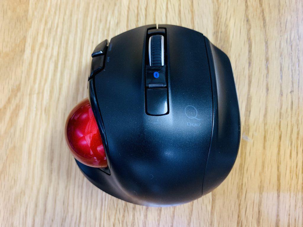 Digio2 トラックボールマウス 小型 Bluetooth 5ボタン