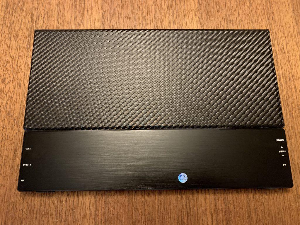 cocopar2019最新モバイルモニターのカバーを付けた正面画像